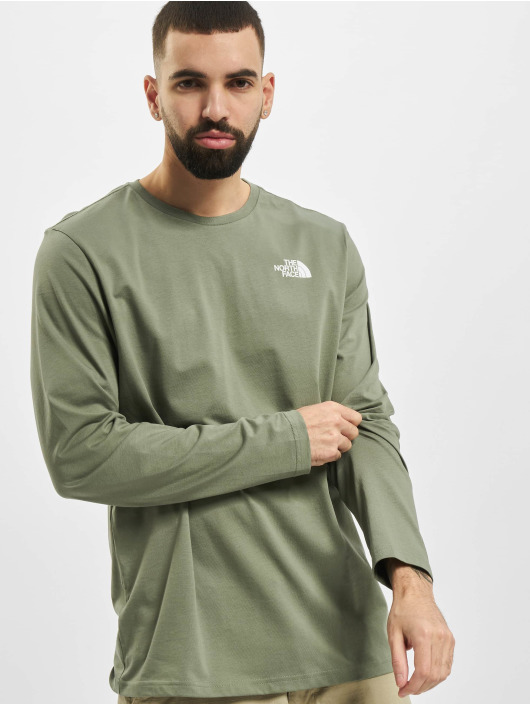 The North Face Longsleeves Face Easy zelený