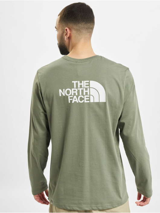 The North Face Longsleeves Face Easy zielony