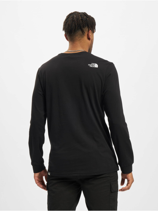 The North Face Pitkähihaiset paidat Simple Dome musta