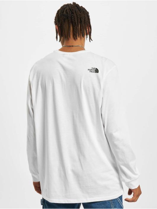 The North Face Pitkähihaiset paidat Simple Dome valkoinen