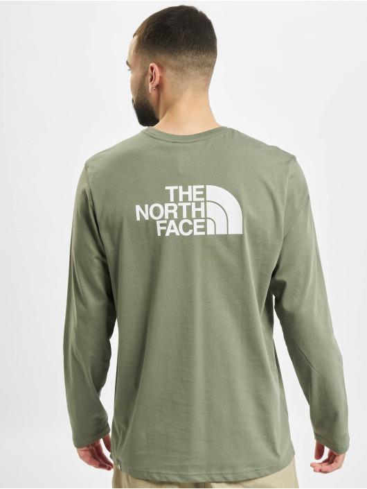 The North Face Pitkähihaiset paidat Face Easy vihreä