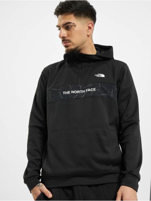 The North Face Sweat capuche Train N Logo 1/4 noir