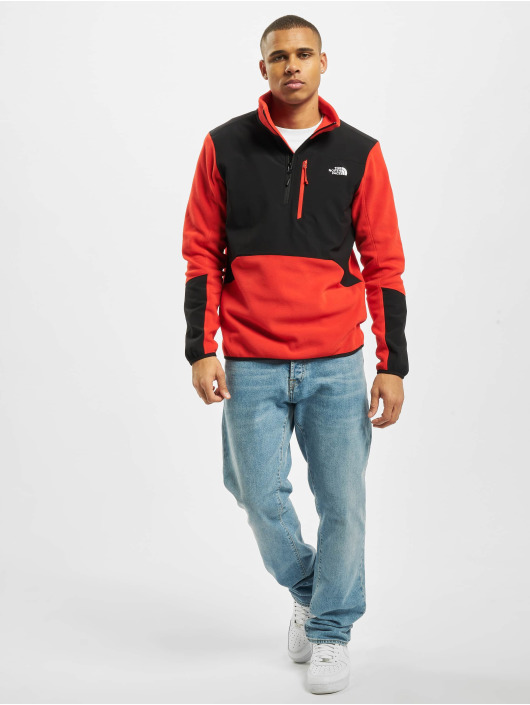 The North Face Swetry Glacier Pro 1/4 czerwony
