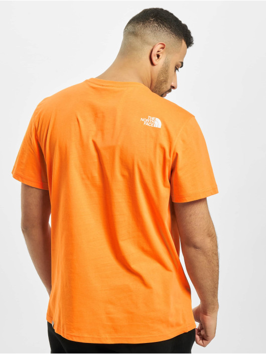 The North Face T-paidat Simple Dome oranssi