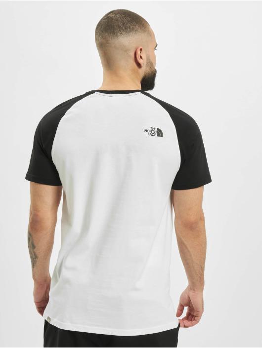 The North Face T-paidat Raglan Easy valkoinen