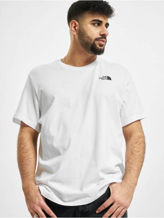 The North Face T-Shirt Redbox Cel blanc