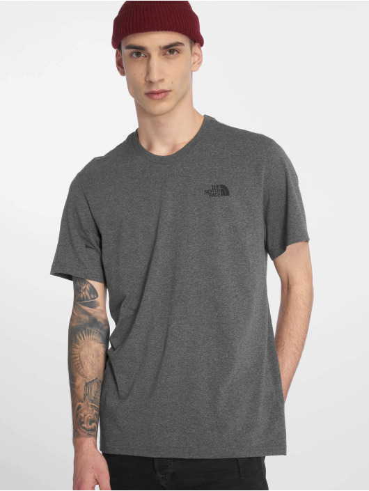 The North Face T-Shirt Face Simple Dome grau