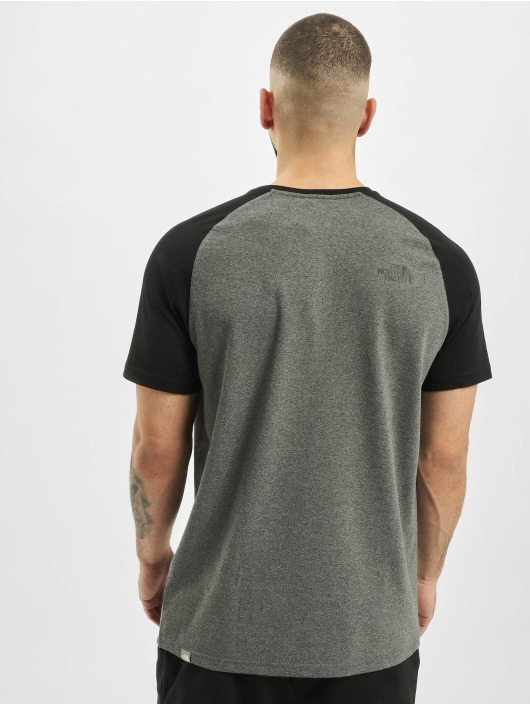 The North Face T-Shirt Raglan Easy grau