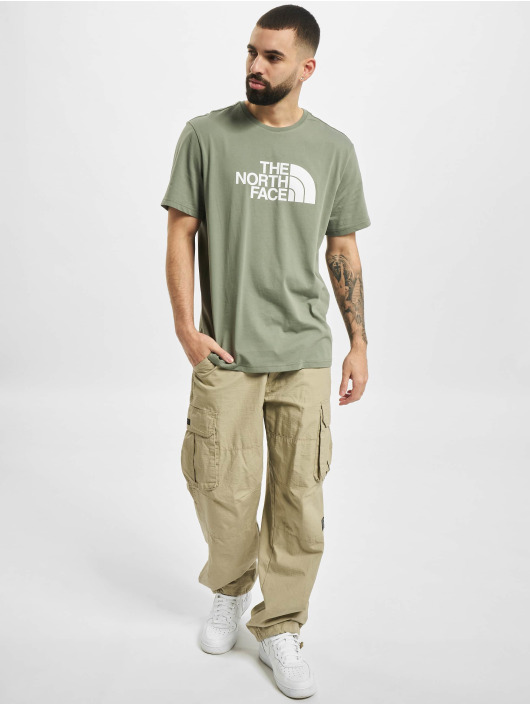 The North Face t-shirt Face Easy groen