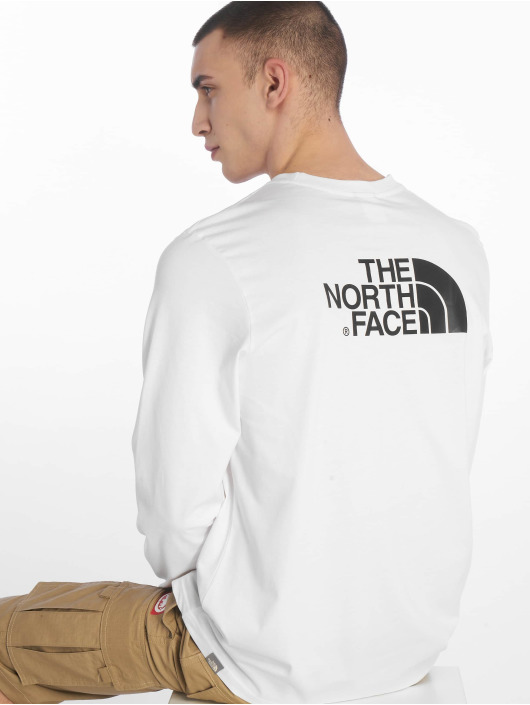 8a87a8df95 The North Face | Face Easy blanc Homme T-Shirt manches longues 624552