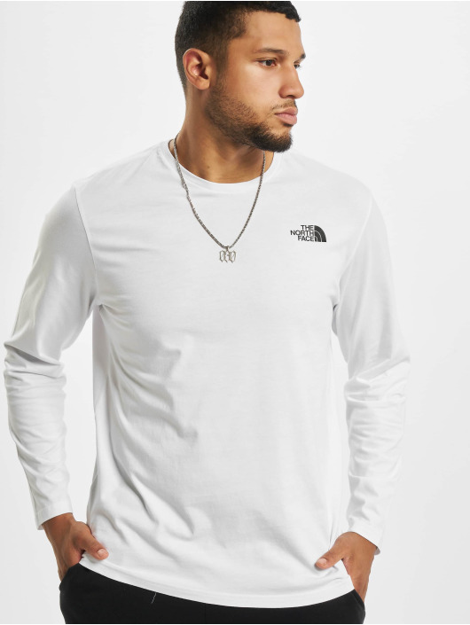 The North Face T-Shirt manches longues Face Easy blanc