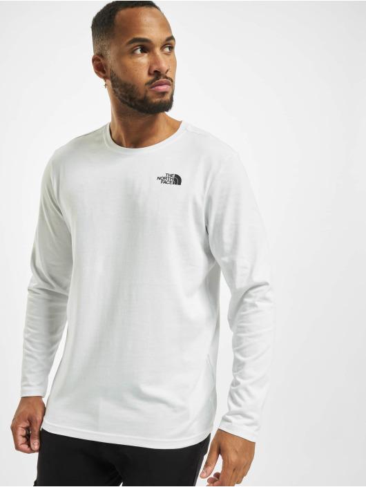 The North Face T-Shirt manches longues Redbox blanc