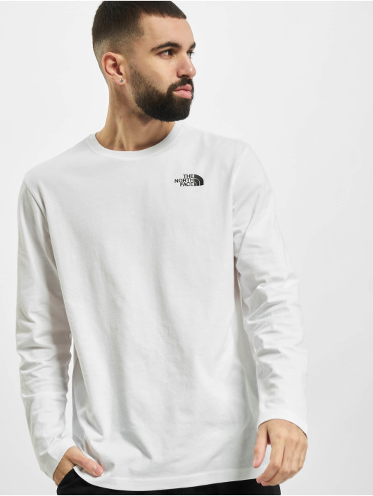 The North Face T-Shirt manches longues Red Box blanc