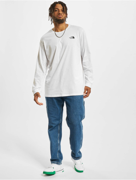 The North Face T-Shirt manches longues Simple Dome blanc