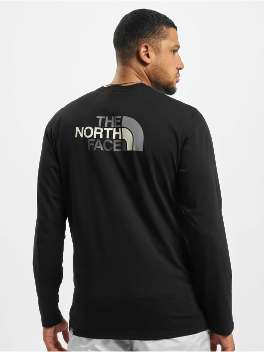 The North Face T-Shirt manches longues Face Easy noir