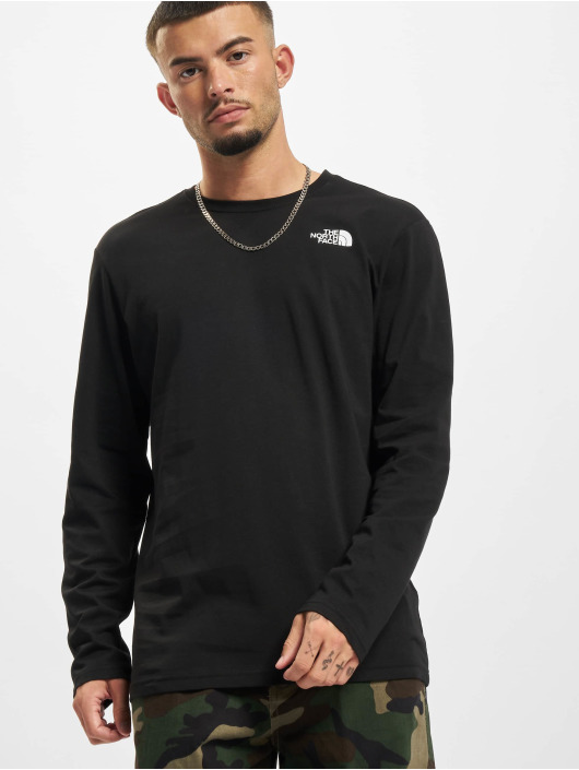 The North Face T-Shirt manches longues Red Box noir