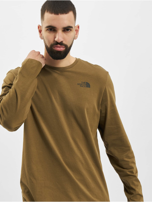 The North Face T-Shirt manches longues Face Easy olive