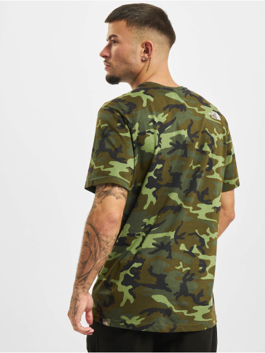 The North Face T-shirt Simple Dome mimetico