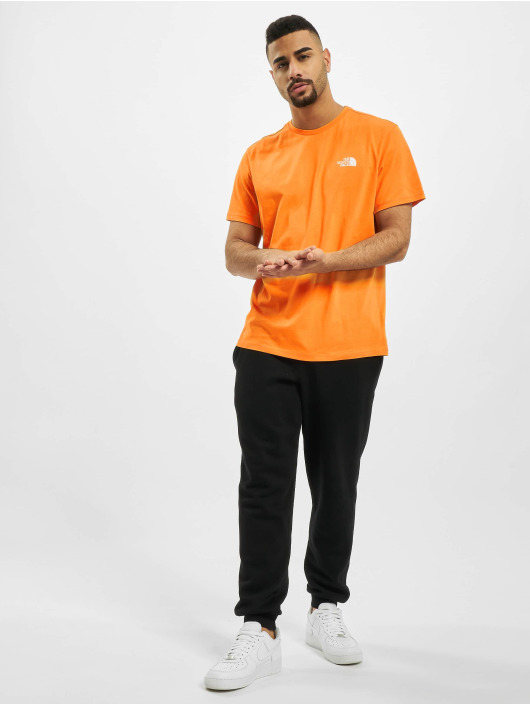 The North Face t-shirt Simple Dome oranje