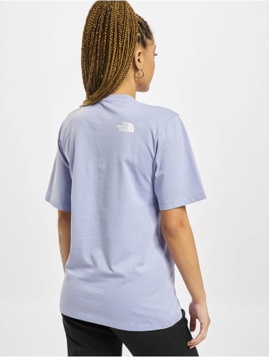 The North Face t-shirt Bf Easy paars