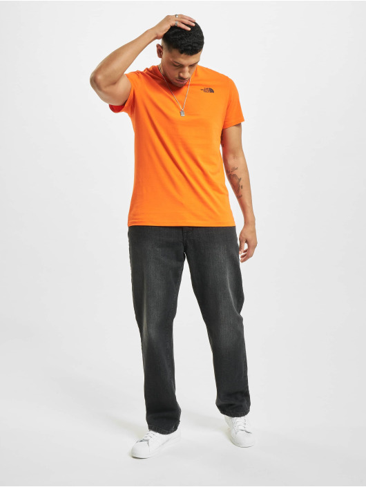 The North Face t-shirt Red Box rood