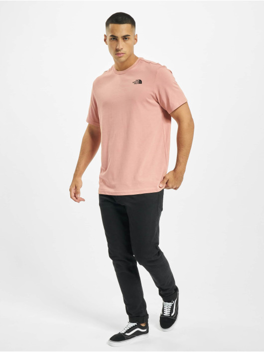 The North Face t-shirt Redbox rose