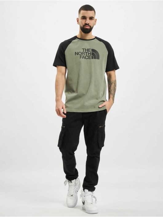 The North Face T-shirt Ss Raglan Easy verde