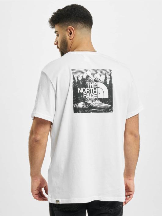 The North Face T-Shirt Redbox Cel weiß