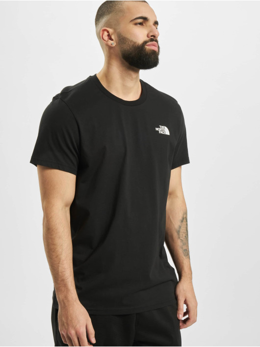 The North Face t-shirt Simple Dom zwart