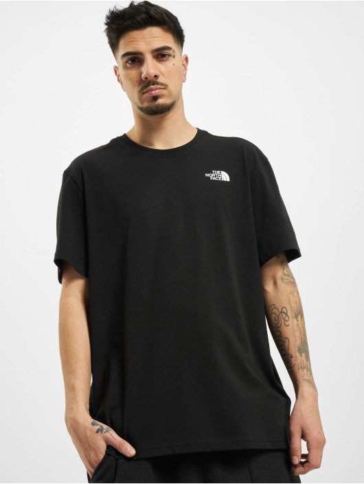 The North Face t-shirt Throwback zwart