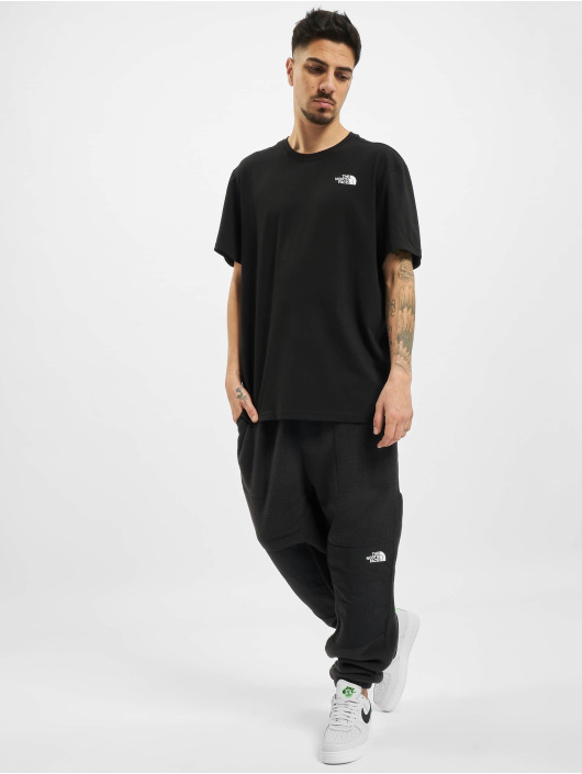 The North Face t-shirt Throwback zwart