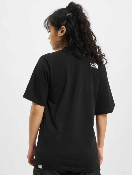 The North Face t-shirt Bf Easy zwart