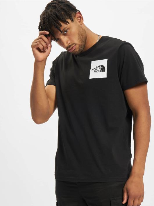 The North Face t-shirt Fine zwart