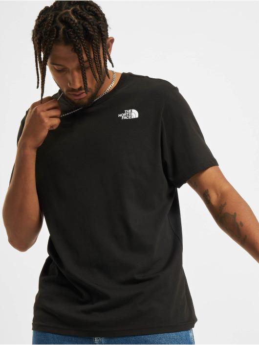 The North Face t-shirt Redbox zwart