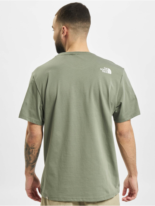 The North Face T-shirts Face Easy grøn