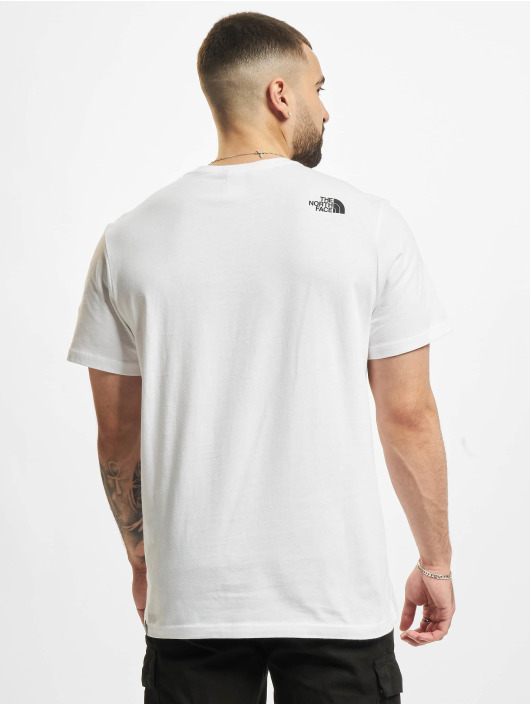 The North Face T-Shirty M SS Fine Tee bialy