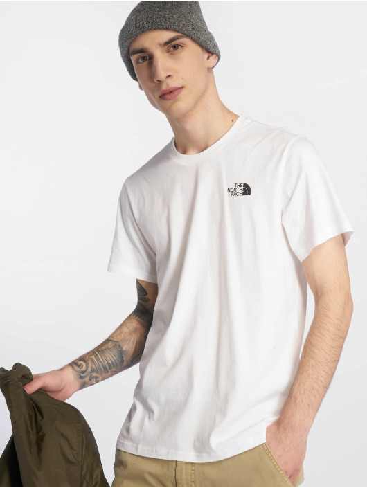 The North Face T-Shirty Simple Dome bialy