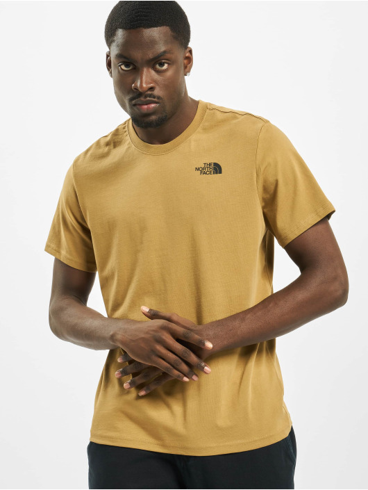 The North Face T-Shirty Red Box khaki