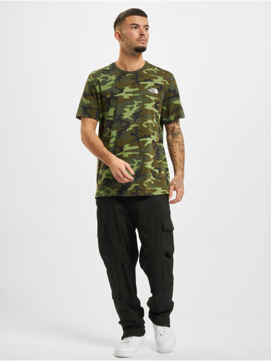 The North Face T-Shirty Simple Dome moro