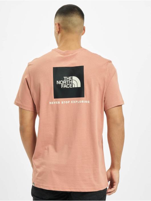 The North Face T-Shirty Redbox rózowy