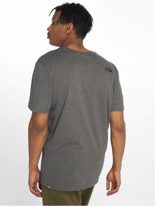 The North Face T-Shirty Easy szary