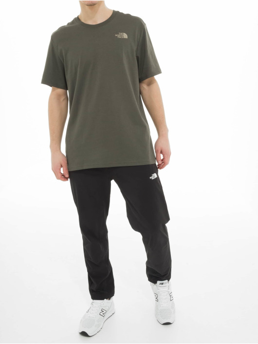 The North Face T-Shirty North Face Red Box zielony