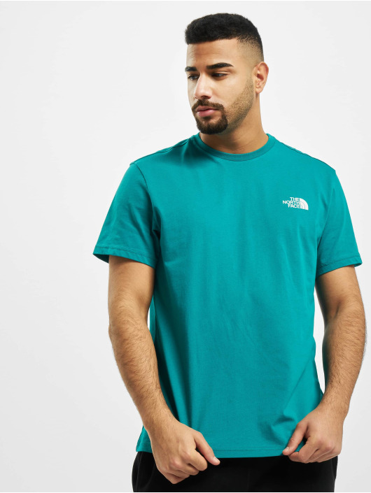 The North Face T-Shirty Simple Dome zielony
