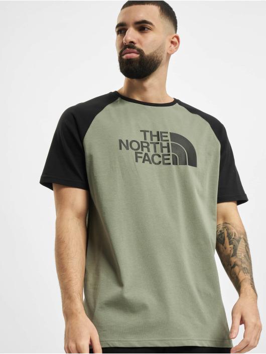 The North Face T-Shirty Ss Raglan Easy zielony