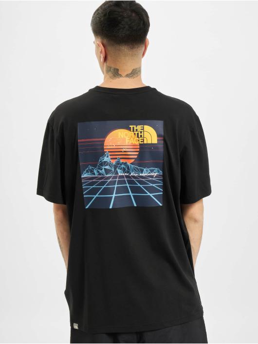 The North Face T-skjorter Throwback svart
