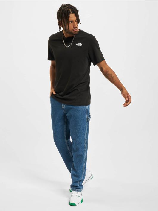 The North Face T-skjorter Redbox svart