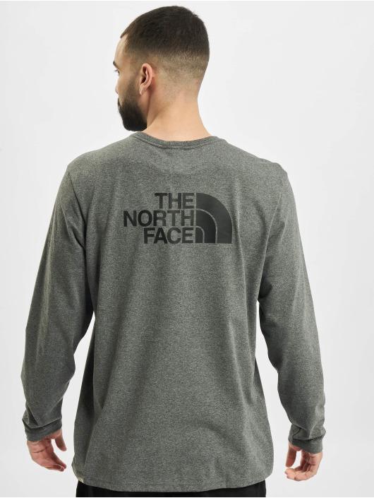 The North Face Tričká dlhý rukáv Easy šedá