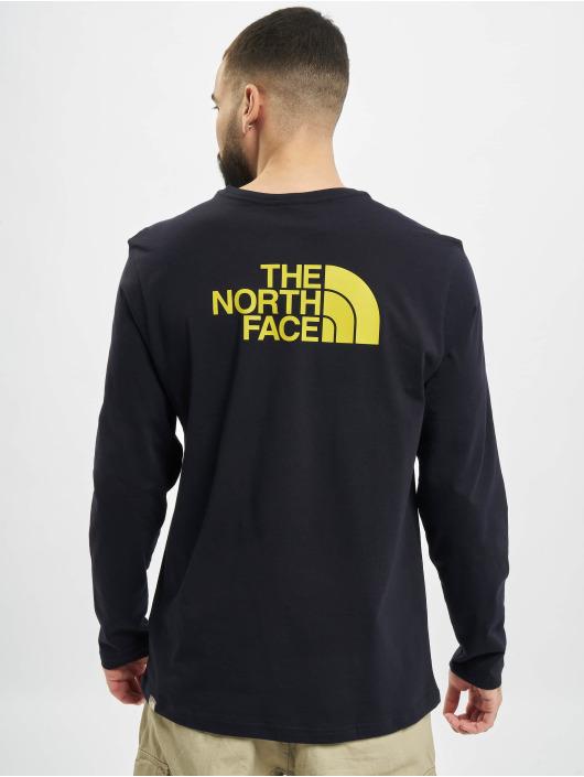 The North Face Tričká dlhý rukáv Face Easy modrá