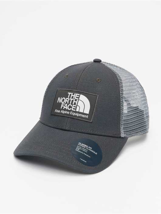 The North Face Trucker Caps Mudder szary