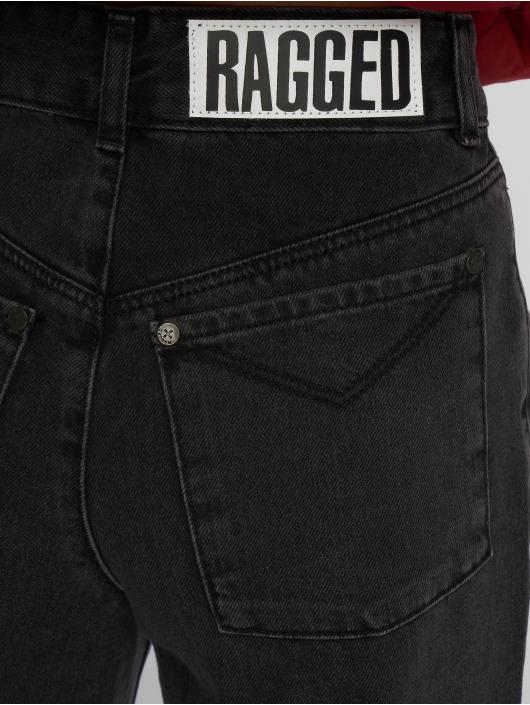 The Ragged Priest High Waist Jeans Flash schwarz